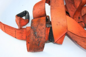 Week 8 Fall Arrest Harness Damaged By Hot Sparks 300x200 Fall Protection Harness
