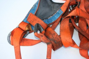Week 8 Fall Arrest Harness Damaged By Hot Sparks1 300x200 Fall Protection Harness