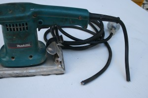 Week 9 Sander Dangerous Condition 1 300x200 Electrical Test and Tag